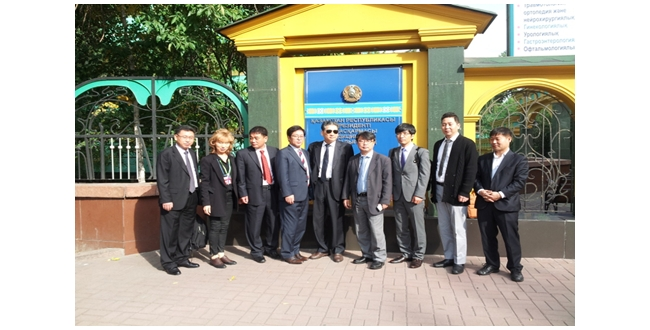 2014 Korea Trade mission in Kazakhstan/Uzbekistan - (주)유라스텍