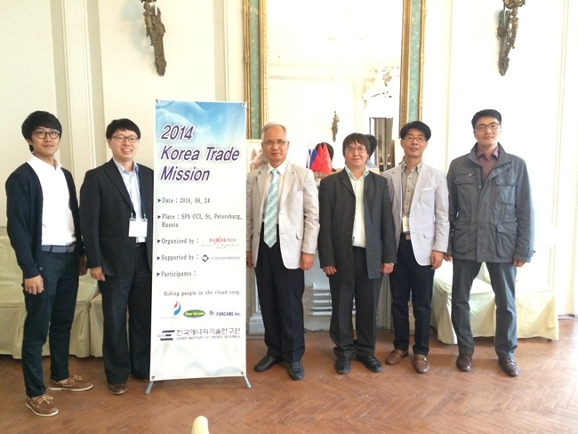 2014 Korea Trade Mission in St.Petersburg - (주)유라스텍